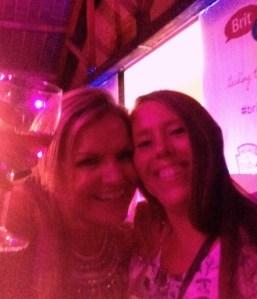 Katy Hill & Caroline Mentzer selfie