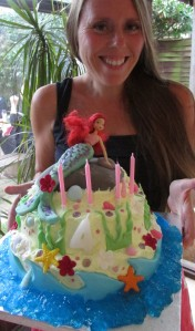 Moist gluten free mermaid birthday cake recipe