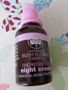 Australian Bush Flower Essence Night Replenishing Cream